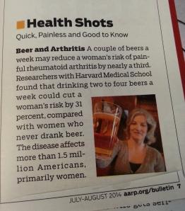AARP Arthritis Article